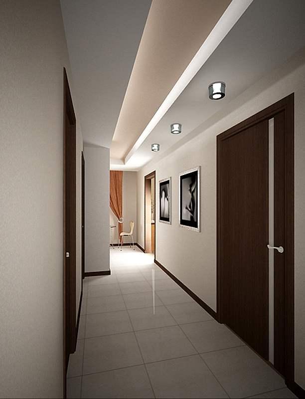 Идеи для потолков в коридоре
