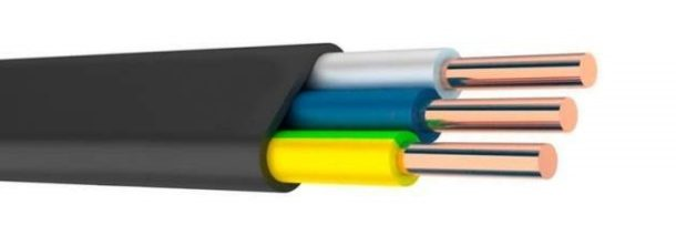 Характеристика кабеля ВВГнг LS