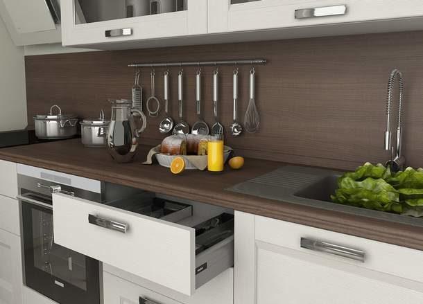 Изделие 60-сантиметровой ширины - оптимальный выбор для стандартной кухни