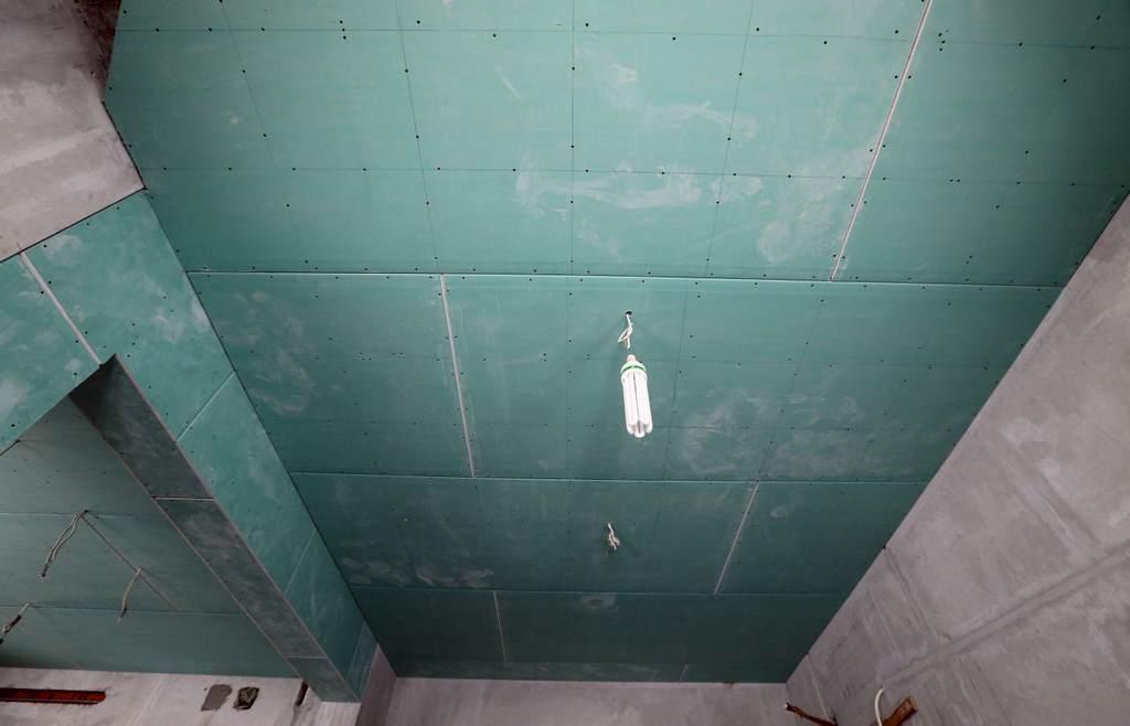 Как обшить потолок гипсокартоном своими руками с 429