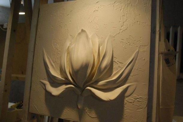 Создание объемного изображения на листе гипсокартона
