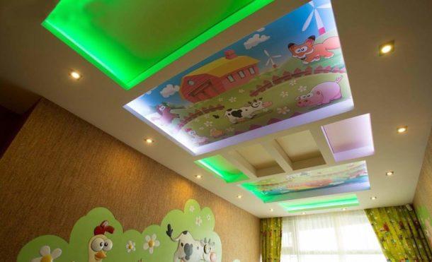 Использование светодиодной подсветки