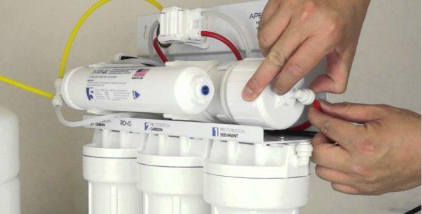 Устанавливаем водный фильтр своими руками