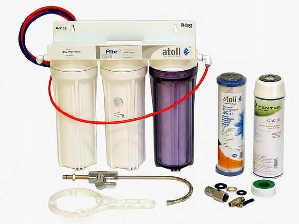 Заменяем картриджи проточной системы фильтрации воды