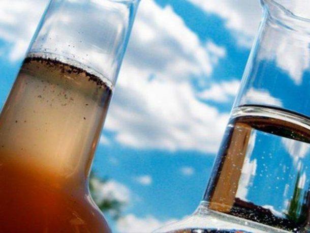 Вода, содержание железа в котрой превышает норму, нуждается в обязательной очистке