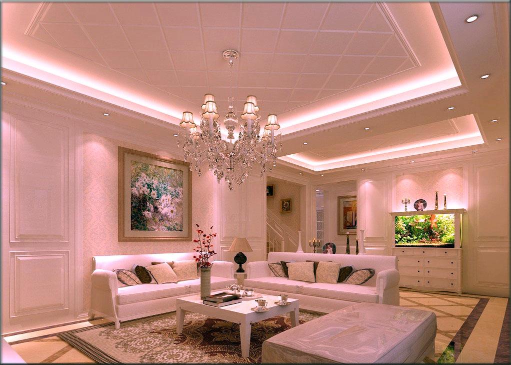Потолок в частном доме из гипсокартона