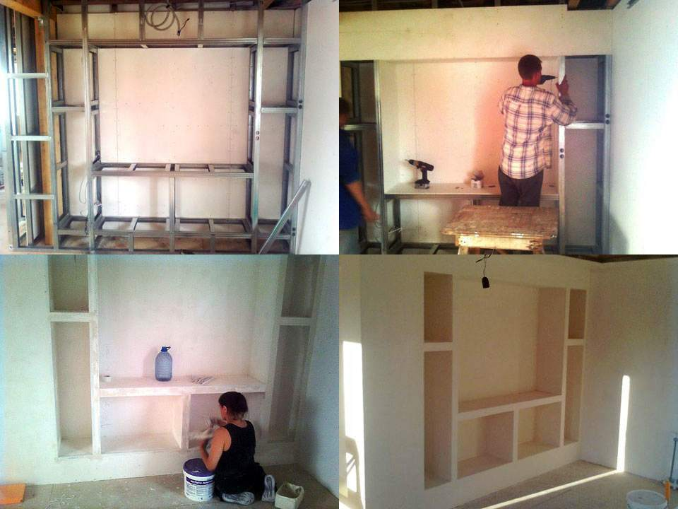 Как сделать стены из гипсокартона стену
