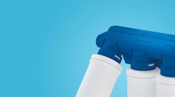 Фильтр для устранения железа в системе комплексной очистки воды