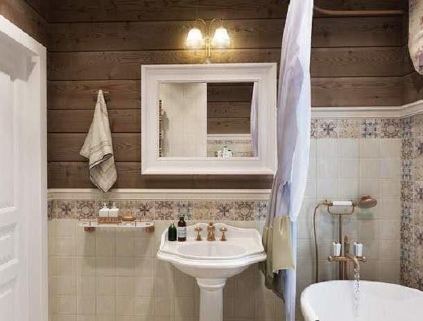 Материалы для воссоздания стиля французской деревни в ванной