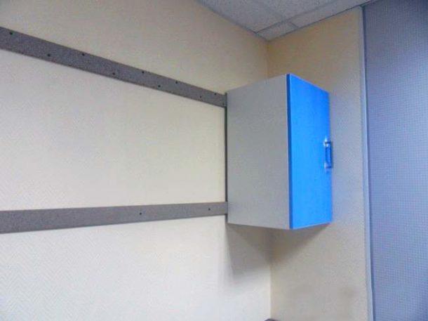 Монтажные рейки под навесные шкафы