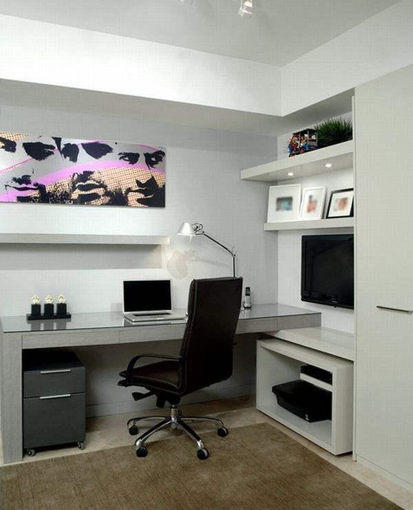Организация рабочего пространства с помощью гипсокартона