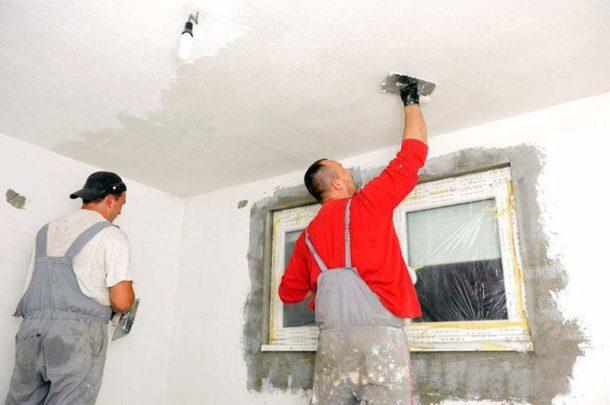 Готовим потолок к нанесению краски