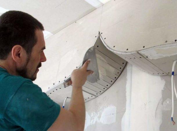 Создание арки из ГКЛ