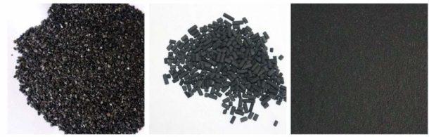 Виды активированного угля для фильтрации воды