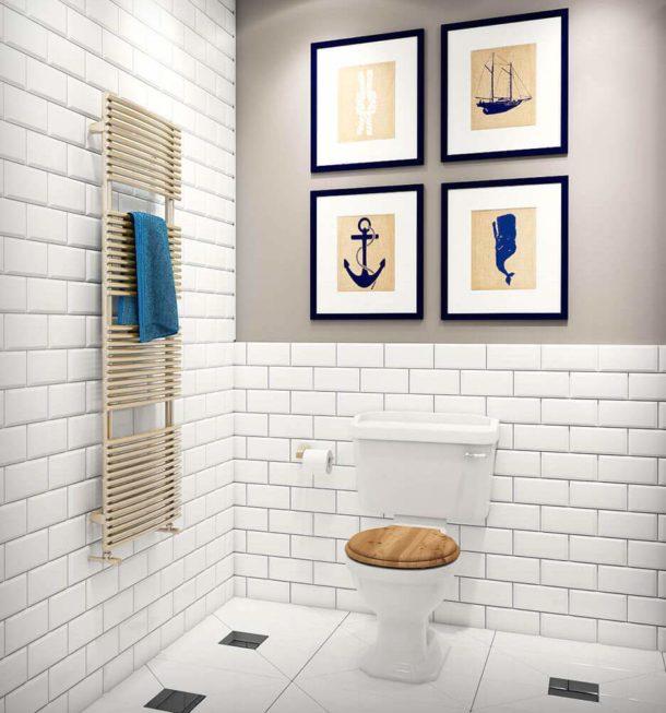 Особенности дизайна отдельного туалета