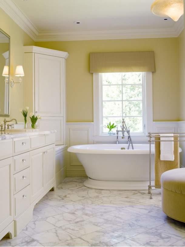 Идеальное цветовое сочетание интерьера и отделки ванной
