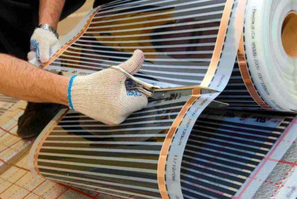 Использование инфракрасного теплого пола под плиточное покрытие