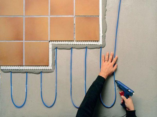 Кабельный пол сложнее в укладке, чем другие электрические разновидности