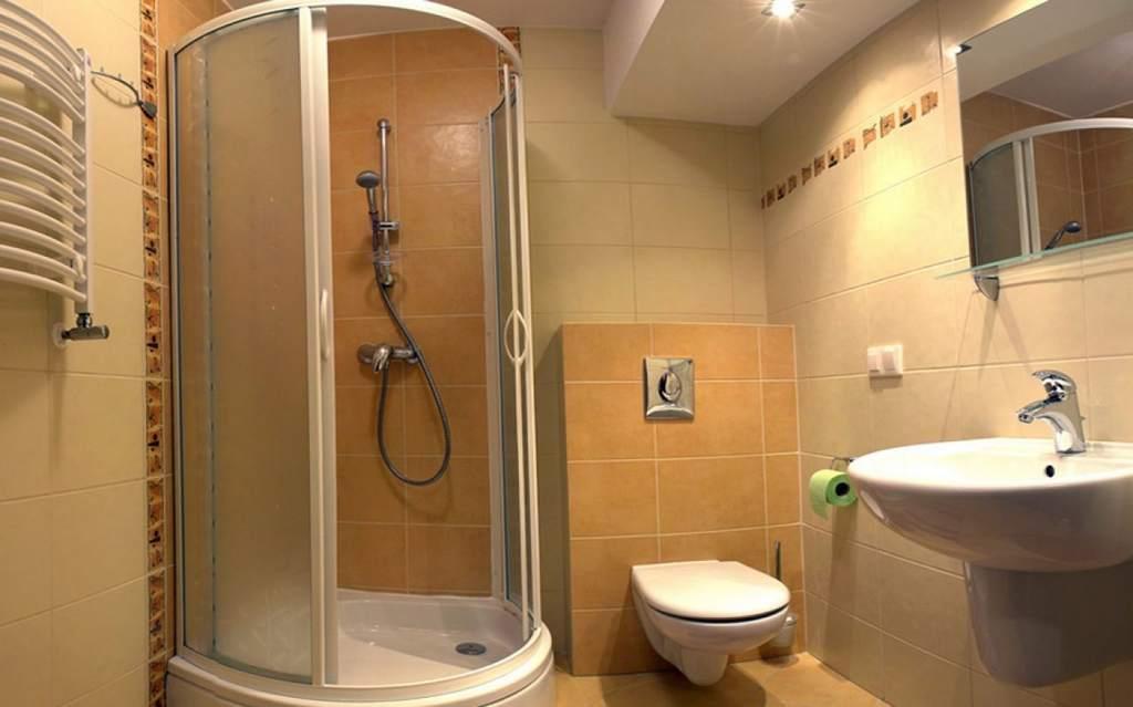 Декор ванных комнат с душевой кабиной фото