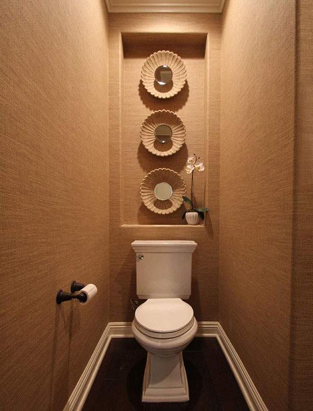 Как сделать стены в туалете