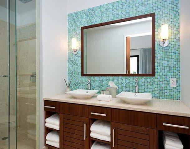 Еще один вариант декорирования - оформление зеркала