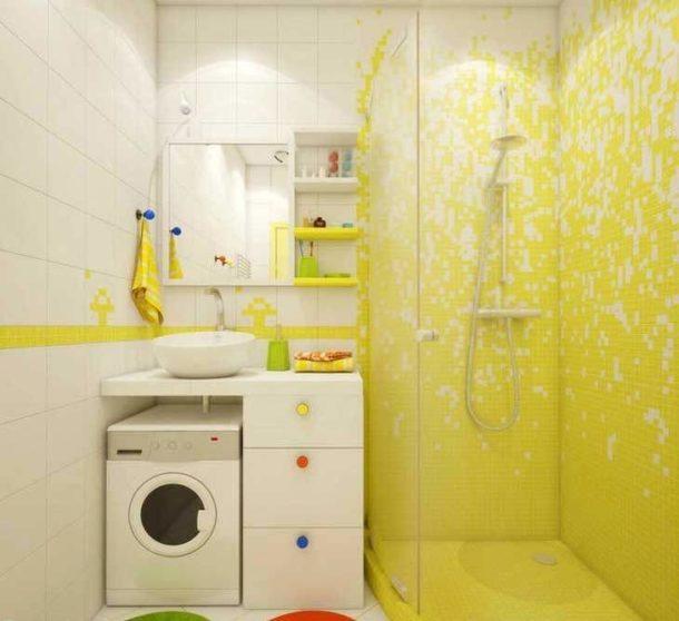 Используем пространство в маленькой ванной максимально эффективно