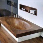 Роскошная деревянная ванна