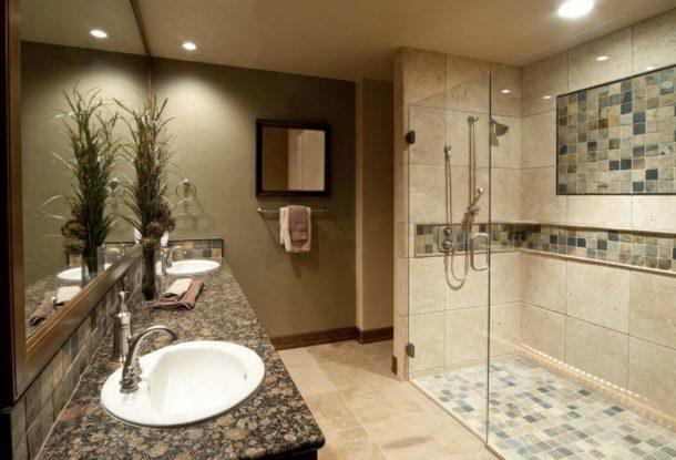 Соответствие дизайна душевого уголка стилю помещения