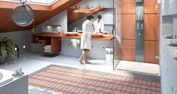Выбираем теплый пол под кафельную плитку