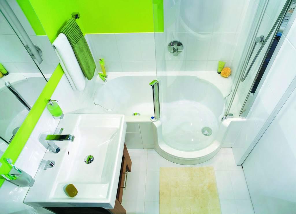 Дизайн маленькой ванной комнаты картинки 169