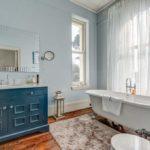 Ванная, оформленная в стиле прованс