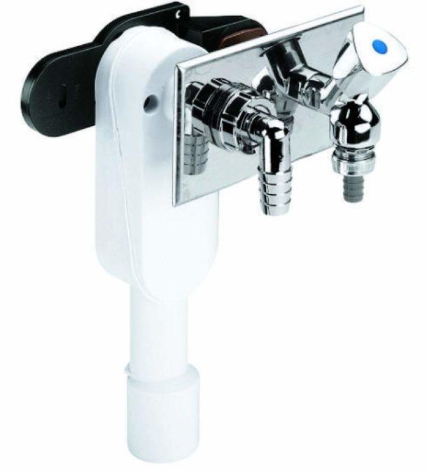 Встраиваемый сифон для стиральной машины