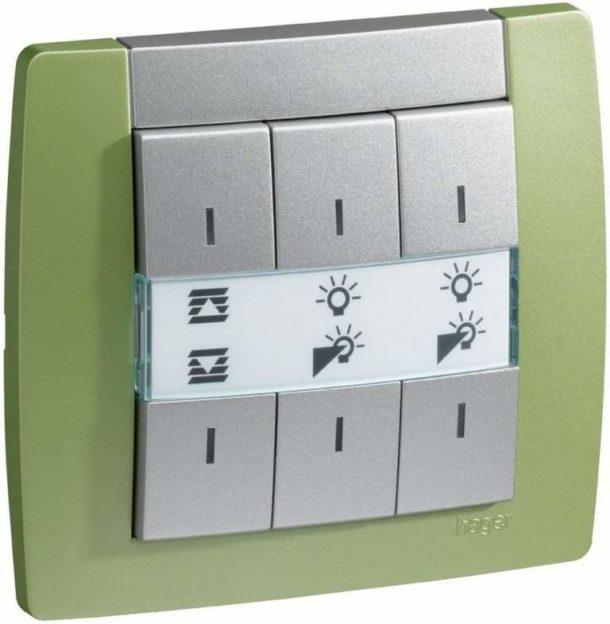 Диммер с кнопочным регулятором