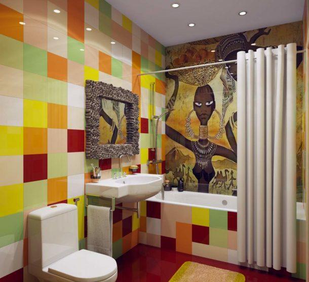 Дизайн интерьера ванной и туалета