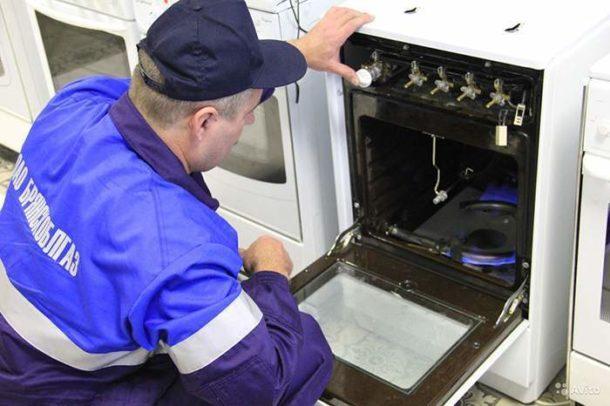 Вышедшую из строя плиту вернет к жизни специалист Горгаза