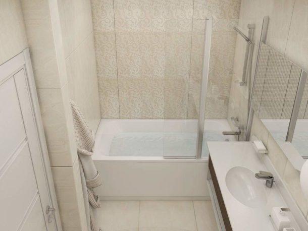 Отдельная ванная в хрущевке