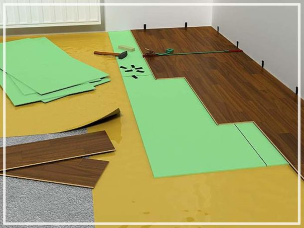 Подготовка основания для укладки покрытия