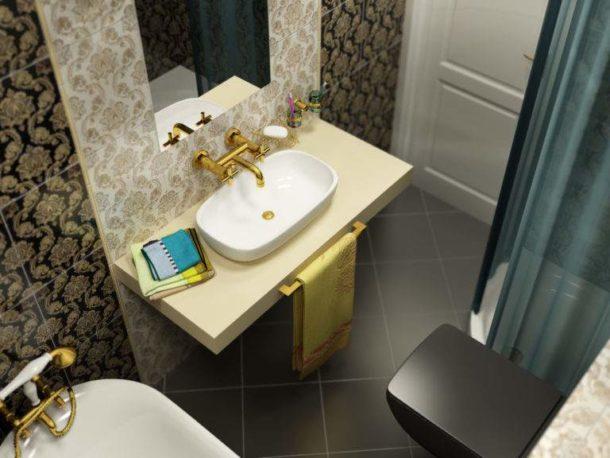 Выбираем качественное оформление небольшой ванной в хрущевке
