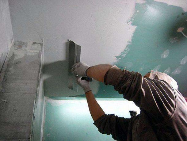 Готовим поверхность к нанесению покрытия