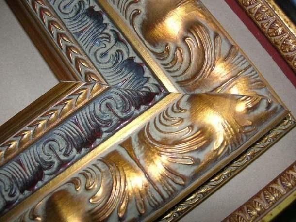 Рама из деревянного багета