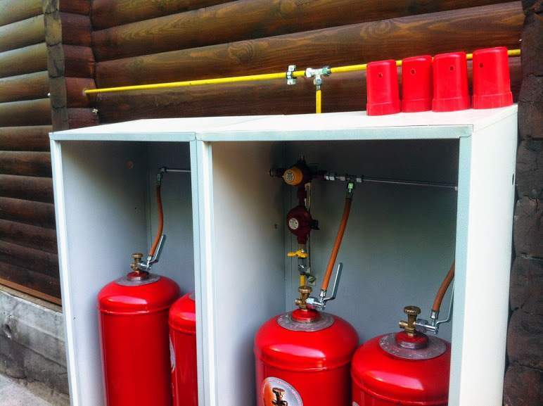 установка газового баллона в квартире