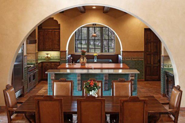 Гипсокартонные арки в интерьере кухни