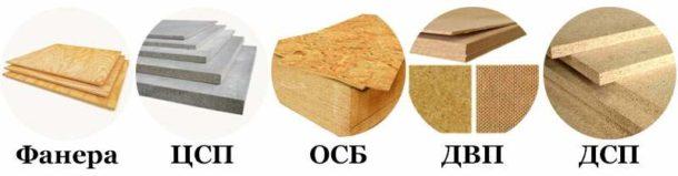 Материалы для выравнивания стен на основе древесины