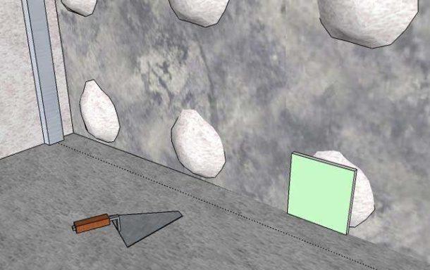 Использование квадратов из ГКЛ в роли маяков