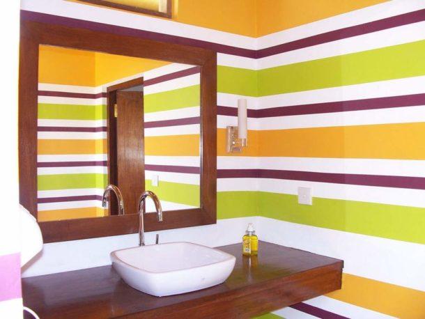 Крашеные стены: красиво, бюджетно, практично