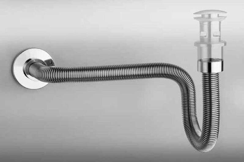 Гофрированные сифоны для раковин