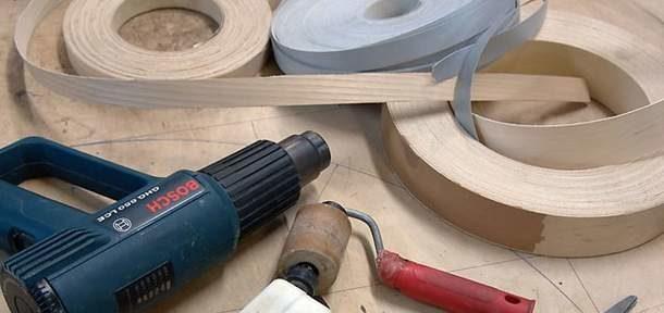 Инструменты и материалы для восстановления кромки