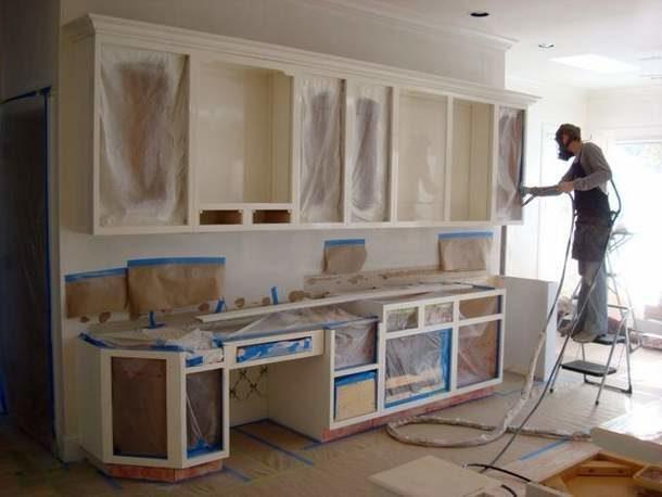 Профессиональная реставрация мебели для кухни
