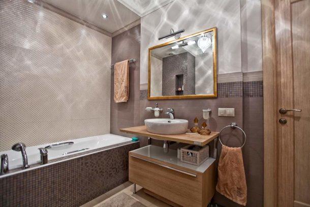 Дизайн ванной в квартире