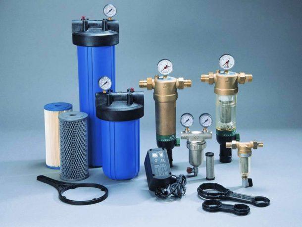 Фильтры механической очистки: с промывными сетками и картриджами